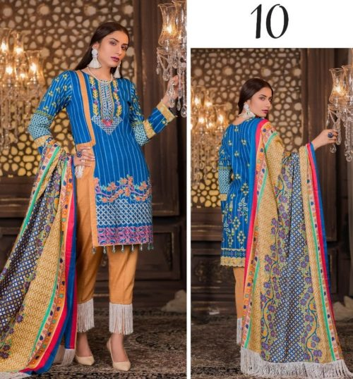 Akbar Aslam Mehram Premium Khaddar Collection 10
