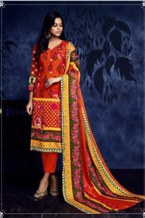 Belliza DesigNer Studio AlMarina vol 4 premium shawl collection suit 187-007