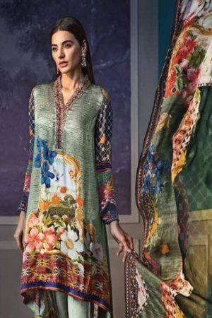 Buy Levisha Lamis Silk Collection With digital Print Salwar Suits 1002