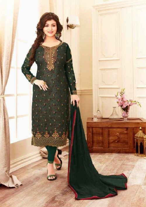 Buy lavina Nx3 Georgette Embroidery Salwar Suit 3005