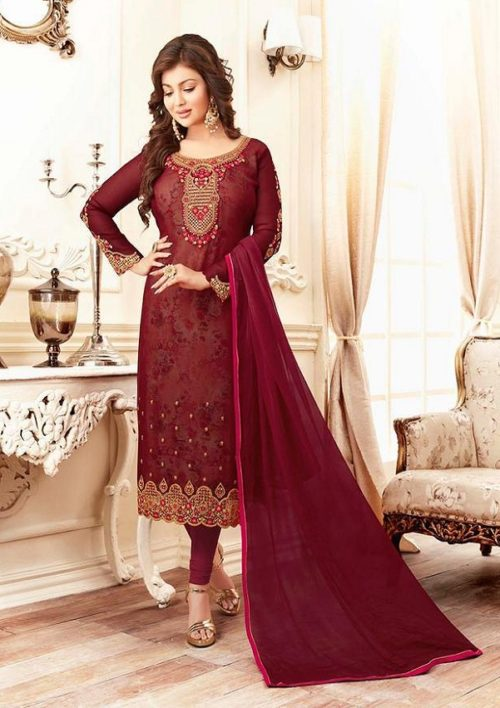 a75010ad7f Buy lavina Nx3 Georgette Embroidery Salwar Suits 3001