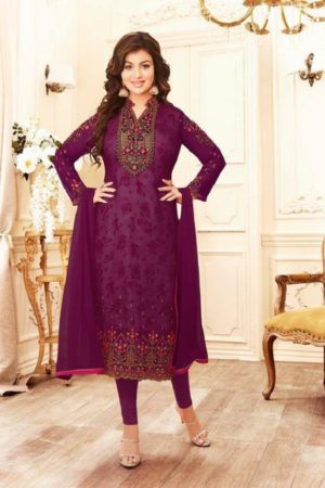 Buy lavina Nx3 Georgette Embroidery Salwar Suits 3004