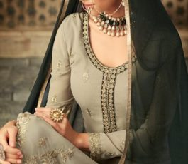 Mohini Glamour 57 Latest Georgette with embroidery sharara suit Collection 57005