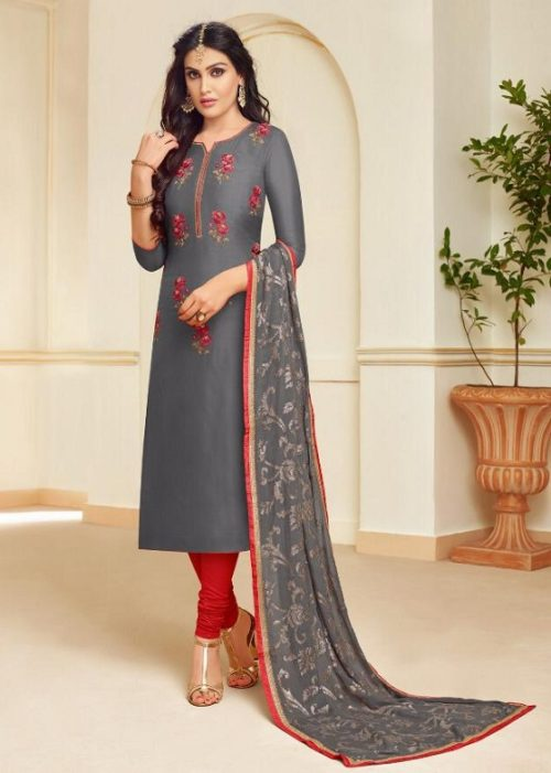 Moof Presents Princess Vol 3 Fancy Upada silk Suit 8003
