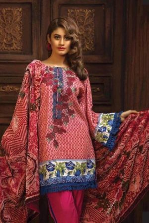 Pakistani Original Zumurd Embroidered Khaddar Collection 02