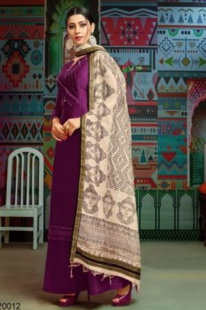 Samaira fashion Shulu vol 2 Chanderi cotton salwar Suit 20012
