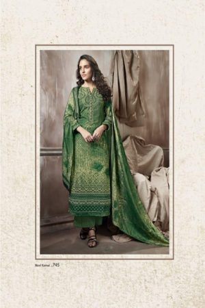 Sudriti Sahiba NeelKamal Pashmina Print with embroidery Suits 745