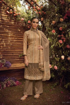 Varsha Fashion Posh Pashmina Printed and Embroidery Suit 001