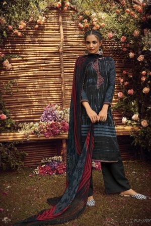 Varsha Fashion Posh Pashmina Printed and Embroidery Suit 008