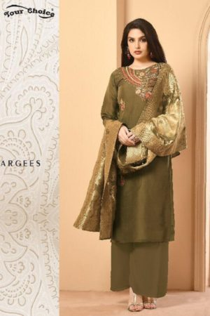 Your Choice Banarsi 1 Satin Georgette with Banarsi Dupatta Salwar Suit 3065