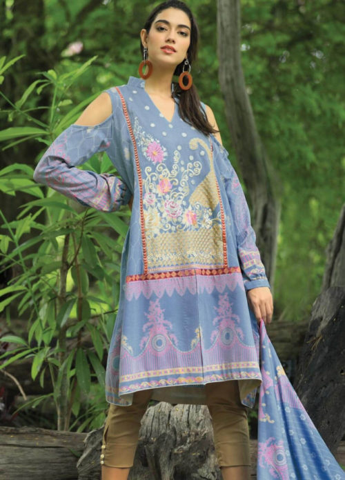 Lsm Pushtani Embroidered Collection 2018 Winter Range Suits 995