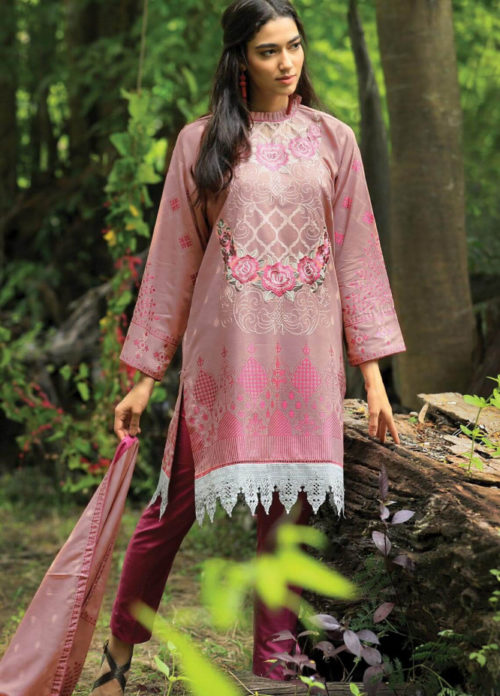 Lsm Pushtani Embroidered Collection 2018 Winter Range Suits 997