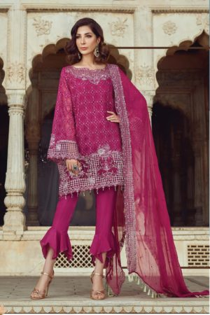 Akbar Aslam Luxury Embroidered Chiffon Pakistani Collection Suits 10