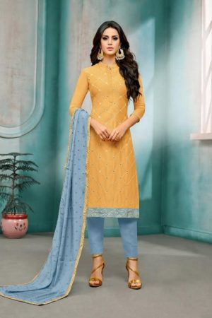 Angroop Plus Daina Vol 3 Masline Silk With Embroidery Suits 050