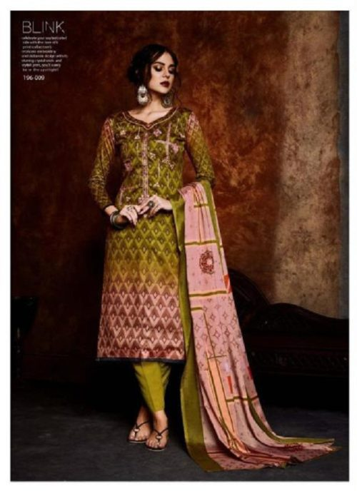 Belliza Designer Studio Blink Pure Original Jam Silk Suits 196-009