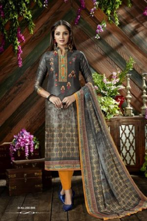 Belliza Designer Studio The Silk 9th Edition Pure Silk Digital Printed Suits 200-005