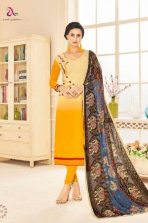 Buy Angroop Plus Munch Chanderi Cotton Salwar Suits 013