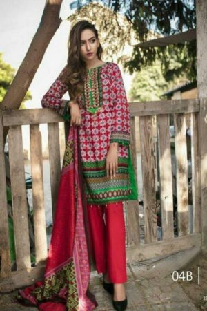 Buy Original Pakistani Anum Printed Lawn Salwar Suits 03A
