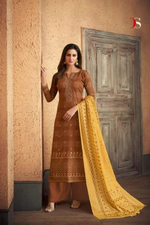 Deepsy Meenakari Pure Jam Silk Cotton Foil Print suits 33001