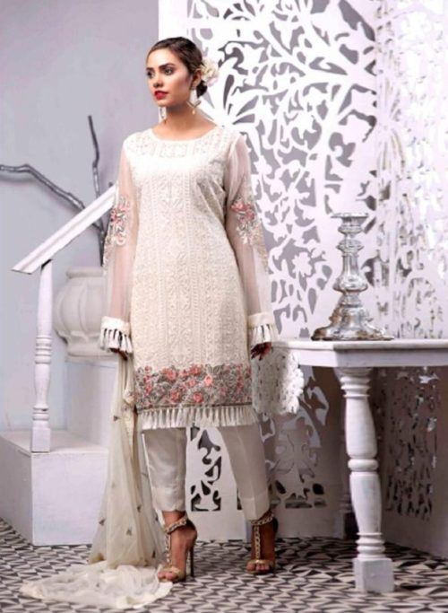 Juvi Fashion Zebaish Fox Georgette With Heavy Embroidery Suit 31002