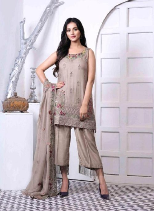 Juvi Fashion Zebaish Fox Georgette With Heavy Embroidery Suit 31005