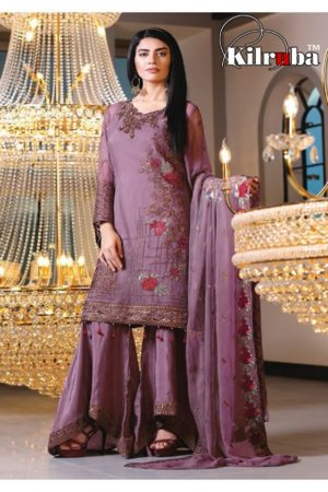 Kilruba Jannat Royal Georgette With Work Designer Suit 3004