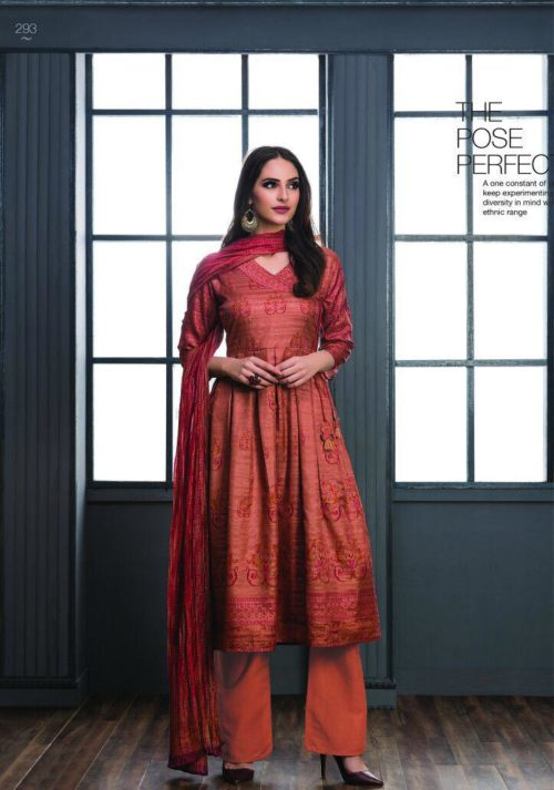 SRI Inayat Chandrakanta Silk Salwar Suit 293