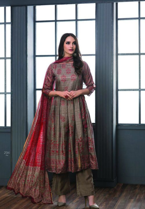 SRI Inayat Chandrakanta Silk Salwar Suit 294