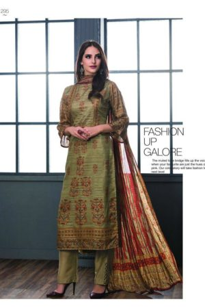 SRI Inayat Chandrakanta Silk Salwar Suit 295