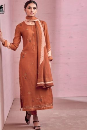 Sahiba Rose Pink Cotton Silk Heavy Digtal Print With Hand Work Suit 435