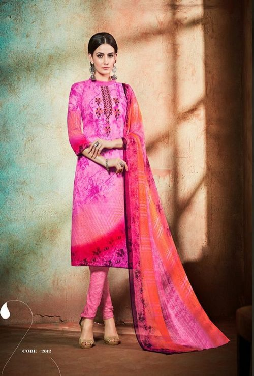Sweety Fashion Maria Cambric Cotton Salwar Suit 2012