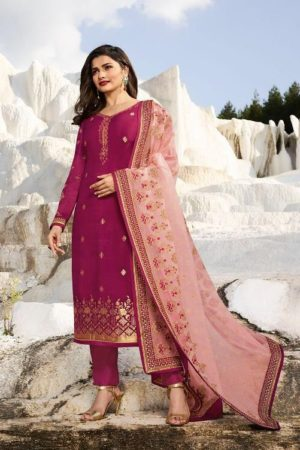 Vinay Fashion Presents Kaseesh Ambition Jacquard With Embroidery Suit 8882