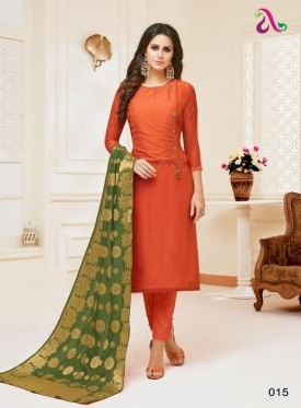 Angroop Plus Presents Inara Masline Silk With Embroidery Suit 015