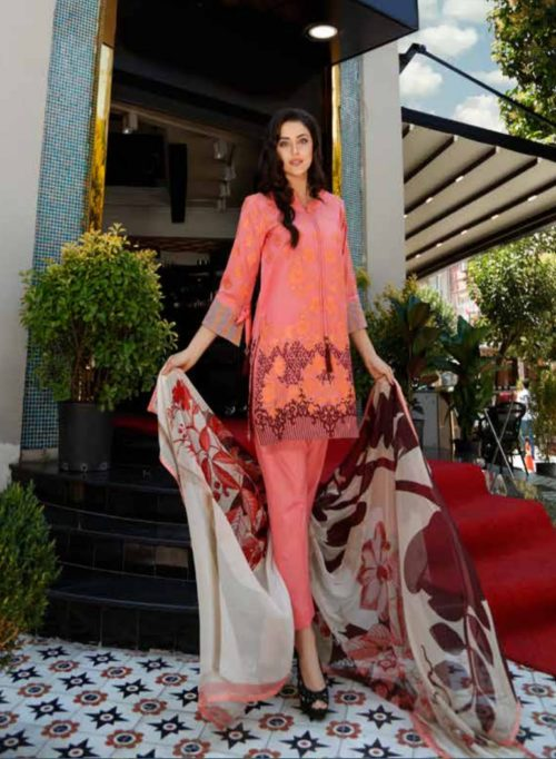 Charizma Swiss Miss Collection Embroidered Swiss Voile Salwar Suits SM33