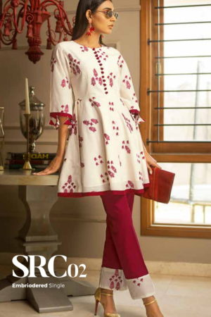 Gul Ahmed Rose Collection Original Pakistani Designer Suits SRC02