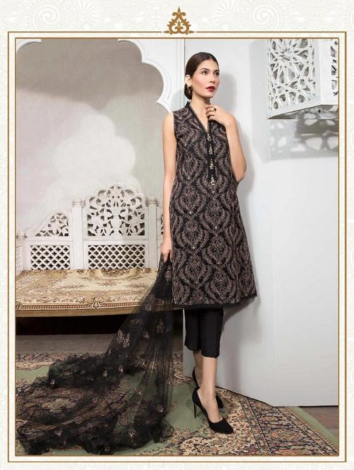 Juvi Presents Rangreza Vol 6 Cambric Cotton with Self Embroidery work Suit 41002