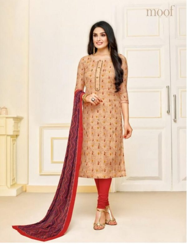 Moof Fashion Presents Penny Vol 2 Maslin Salwar Suits 1013