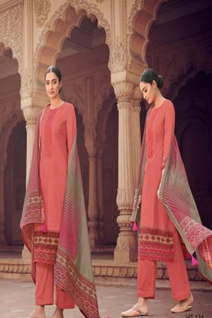 Varsha Presents The Handloom Tales 2 Cotton Print With Embroidery Suits HT-134