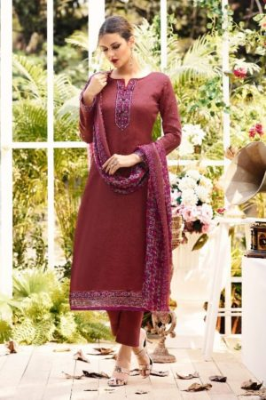 Fiona Presents Zohra Jam Silk With Work Salwar Suit 9134