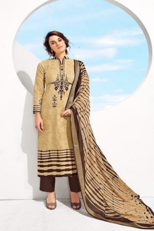 Kesar Karachi Presents Kabil Lawn Collection Pure Lawn Cotton Salwar Suit 2001