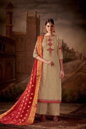 Levisa Rihanaa Pure Jam silk With Embroidery Suit 2613