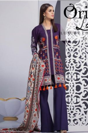 Orient Lawn Master Copy Embroidered Lawn Salwar Suit 101-A