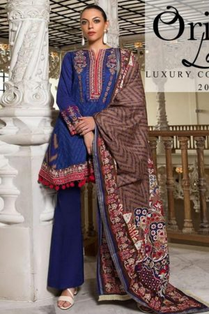 Orient Lawn Master Copy Embroidered Lawn Salwar Suit 107-A
