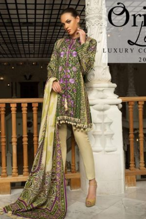 Orient Lawn Master Copy Embroidered Lawn Salwar Suit 108-A