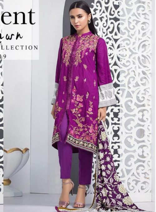 Orient Lawn Master Copy Embroidered Lawn Salwar Suits 103-B