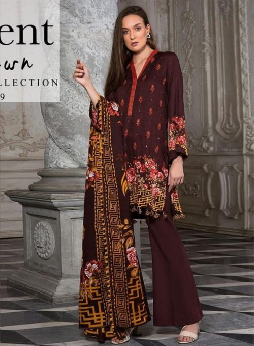 Orient Lawn Master Copy Embroidered Lawn Salwar Suits 104-A