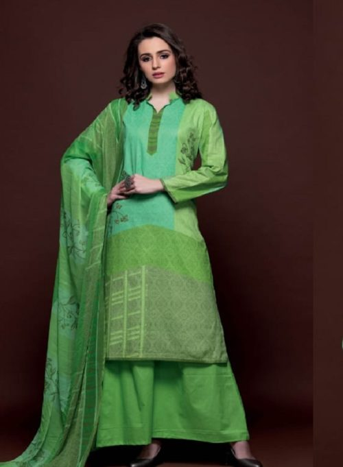 Rivaa Presents Hasleen Cotton Printed Salwar Suit 1418A
