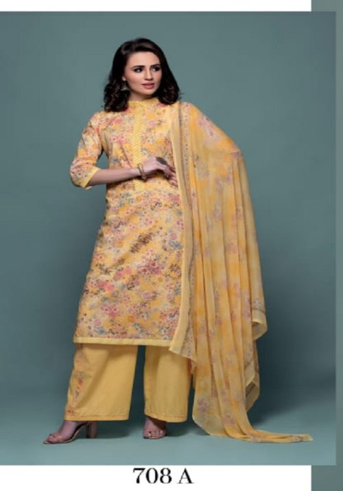 Rivaa Presents Samaira Pure Cotton Print Suit 708A
