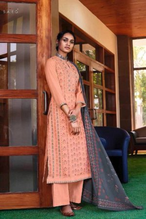 Sahiba Sarg Ethnic Geo Summer Kote Digital Print With Handwork Suits 1289