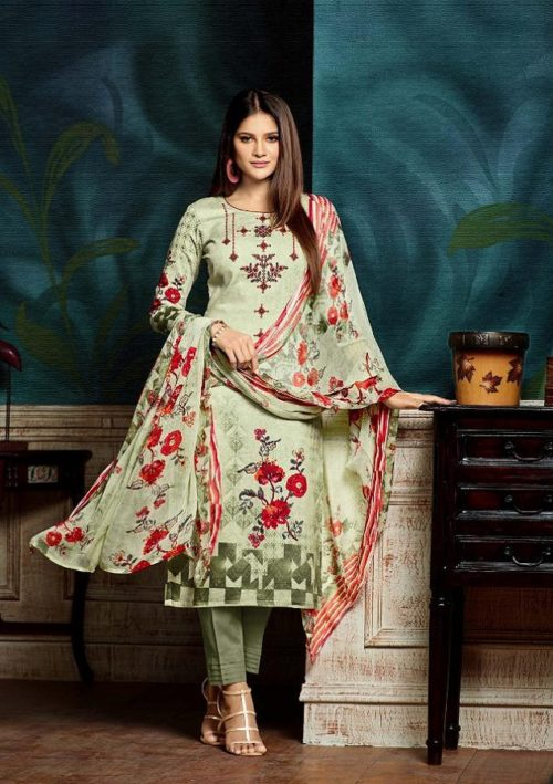 Sargam Prints Presents Bluebell Pure Zam Print With Designer Work Salwar Suits 111-002B